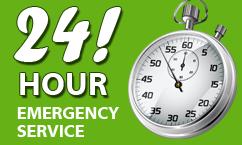 24-7 emergency service Glendale CA